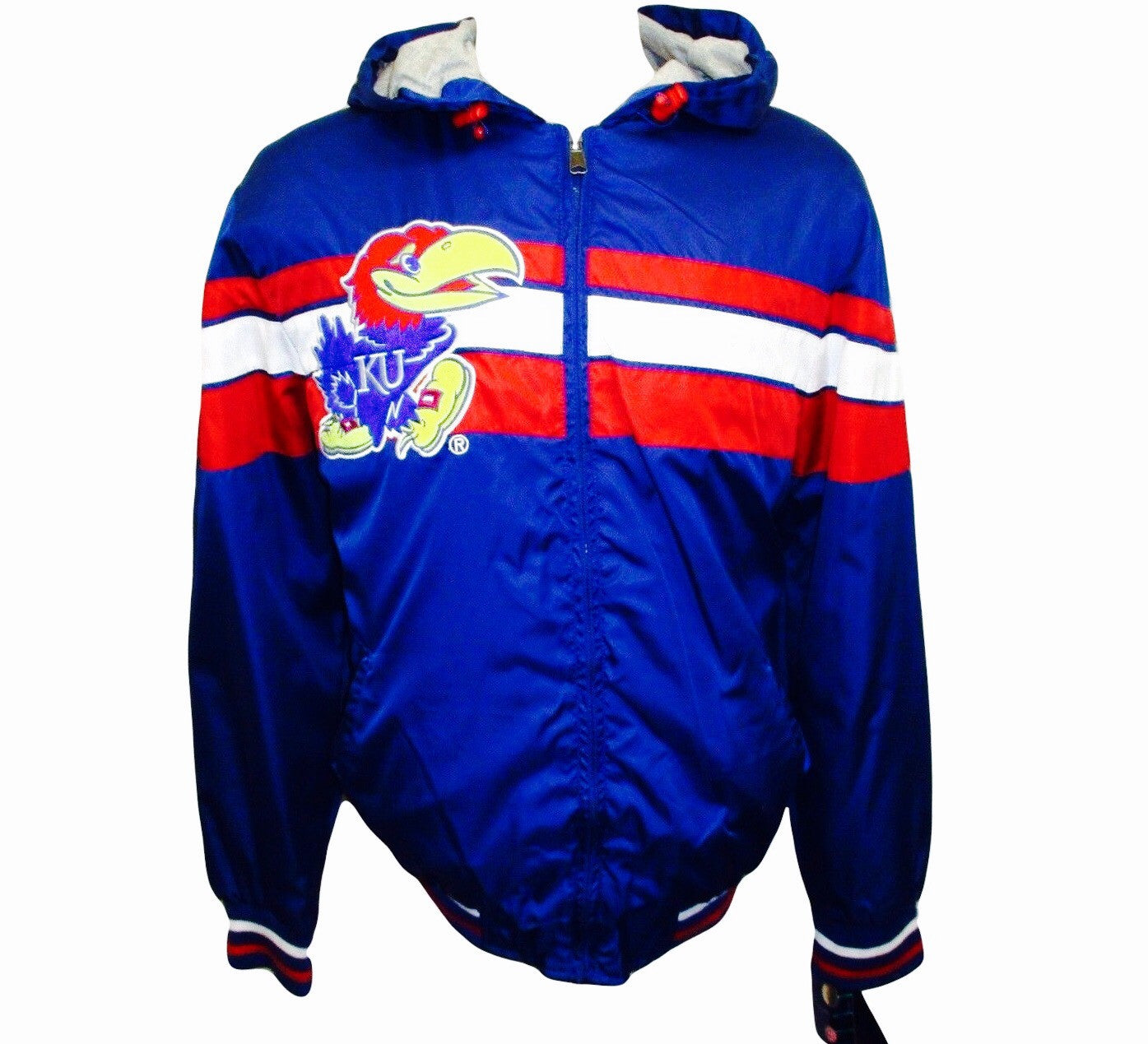 Jayhawks Hooded Windbreaker - And Still