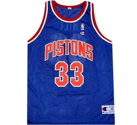 Grant Hill Pistons 90's Jersey