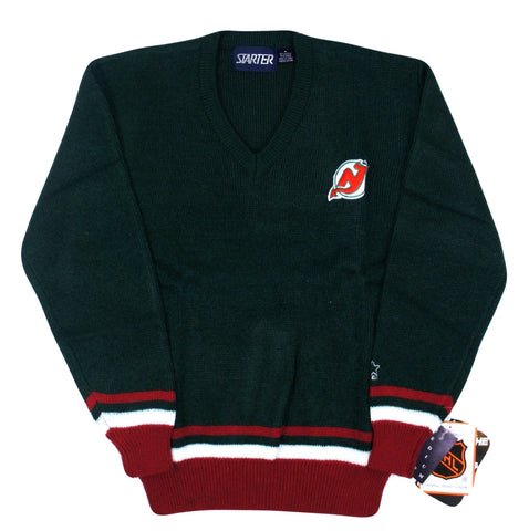 Devils Starter V-Neck Sweater - And Still