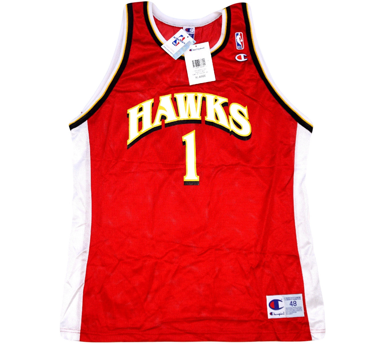 DerMarr Johnson Hawks Jersey - And Still