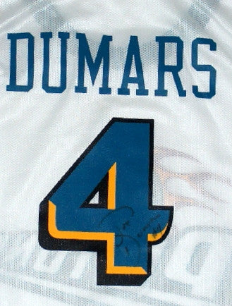 Joe Dumars Auto Pistons Jersey - And Still