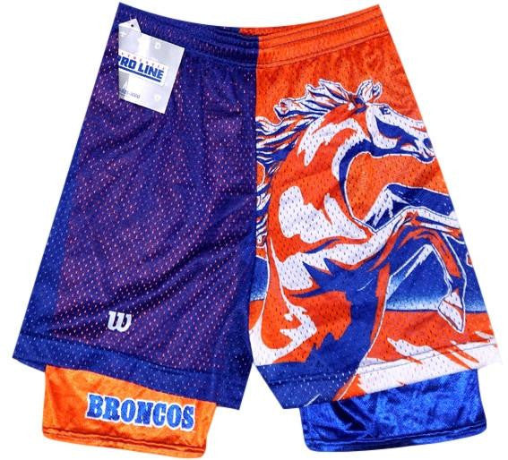 Broncos Vintage Mesh Shorts - And Still