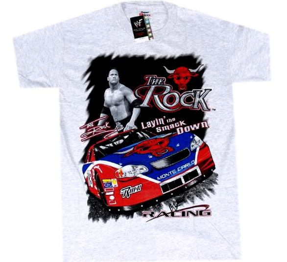 The Rock Vintage WWF Shirt