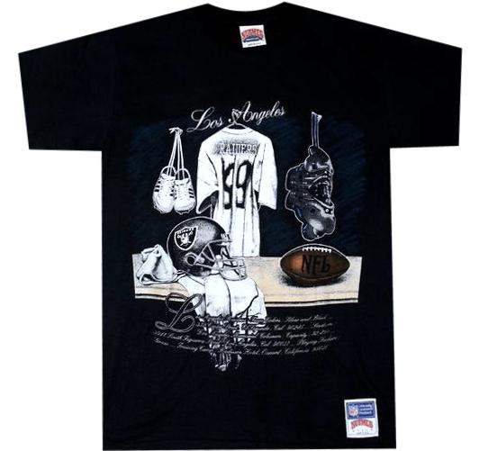 Raiders Vintage 90's NFL Shirt