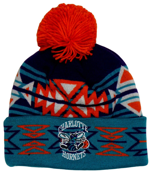 Hornets Aztec M&N Pom Beanie - And Still