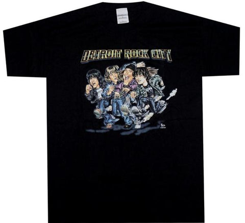 Detroit Rock City Vintage Shirt