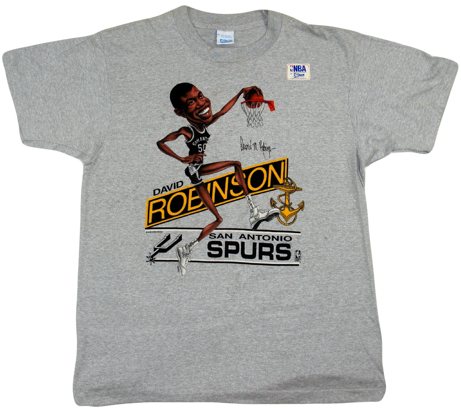David Robinson Caricature Shirt - And Still