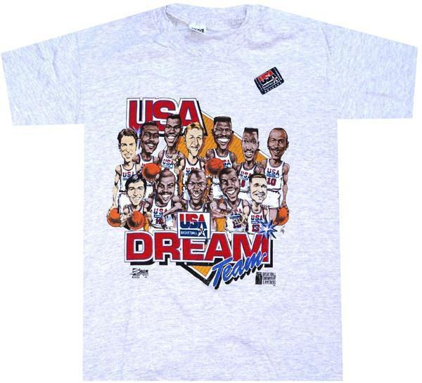 1992 Dream Team Vintage Shirt
