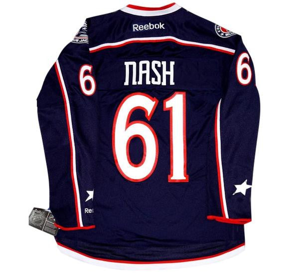 Rick Nash Blue Jackets Jersey