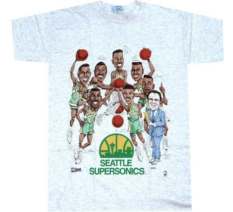 Sonics Vintage 90's NBA Salem Shirt