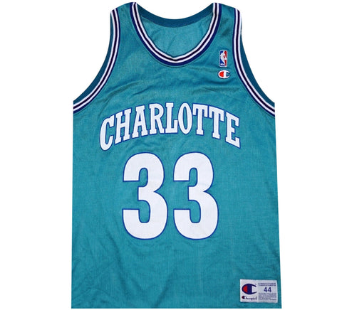 8fbbf4fd0909 Alonzo Mourning Hornets Jersey - And Still