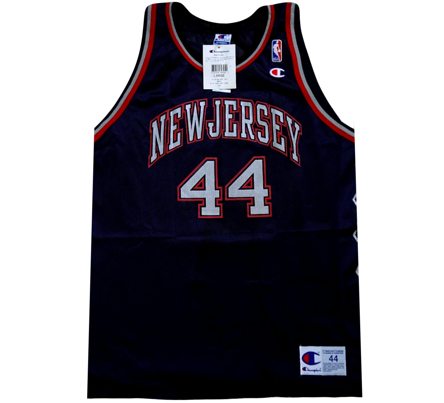 Keith Van Horn Nets Jersey - And Still