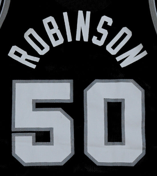 David Robinson Spurs Jersey - And Still