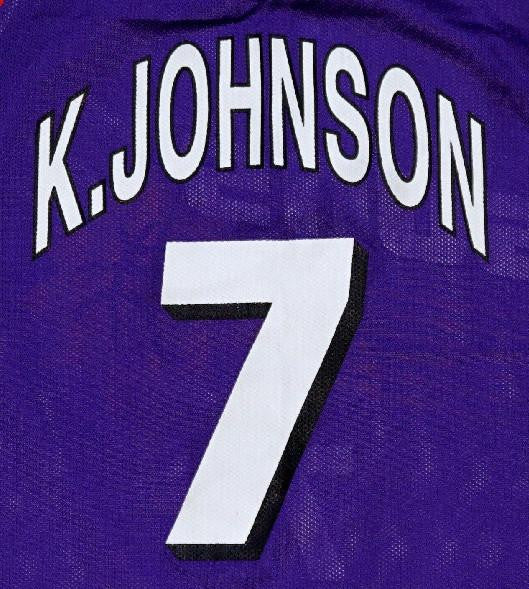 Kevin Johnson Suns 90's Jersey