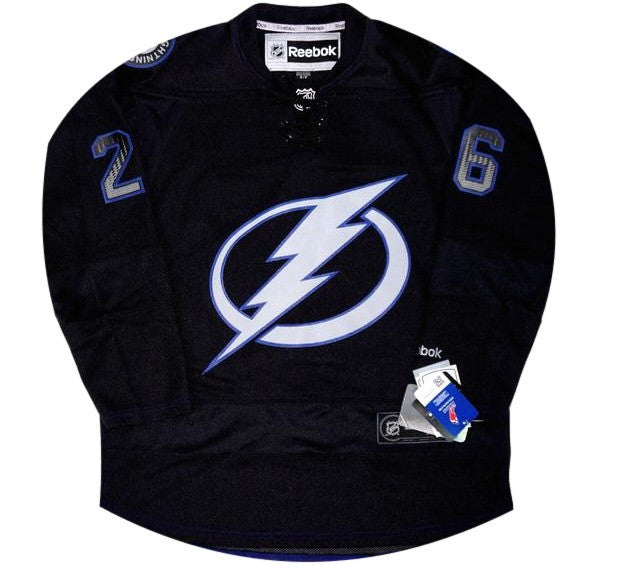 Martin St. Louis Lightning Jersey - And Still