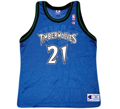 Kevin Garnett Wolves Jersey - And Still