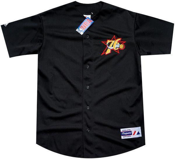 76ers Vintage Baseball Jersey - And Still
