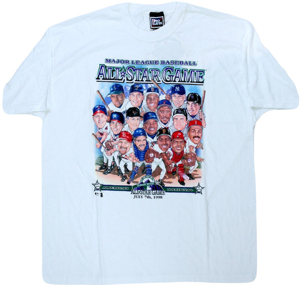 1998 AS Game Caricature Shirt - And Still