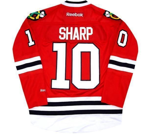 Patrick Sharp Blackhawks Jersey
