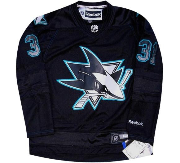 Antii Niemi Retro Sharks Jersey - And Still
