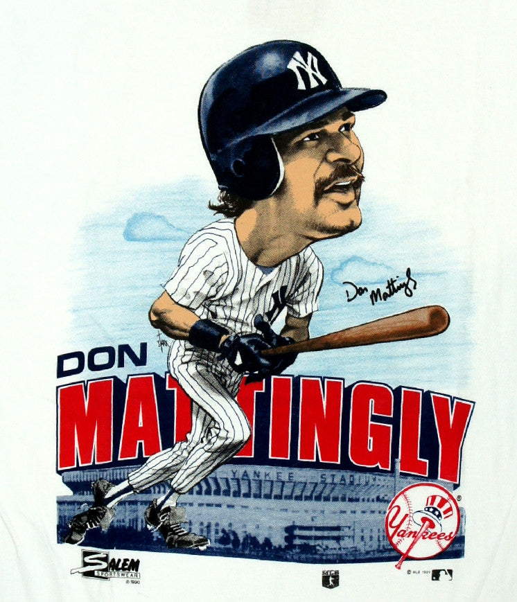 Don Mattingly Caricature Shirt - And Still