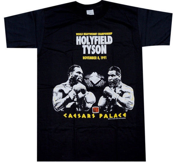 Tyson VS Holyfield Fight Shirt