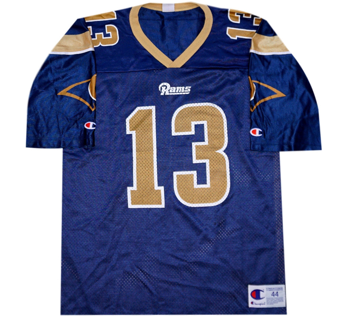 on sale d3b9c 60570 Kurt Warner Rams 90's Jersey