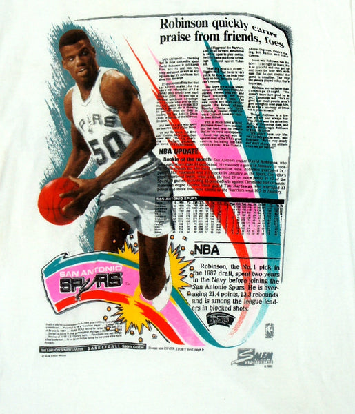 David Robinson Box Score Shirt - And Still