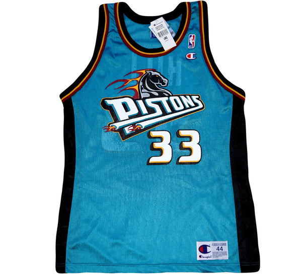 Grant Hill Pistons Auto Jersey - And Still