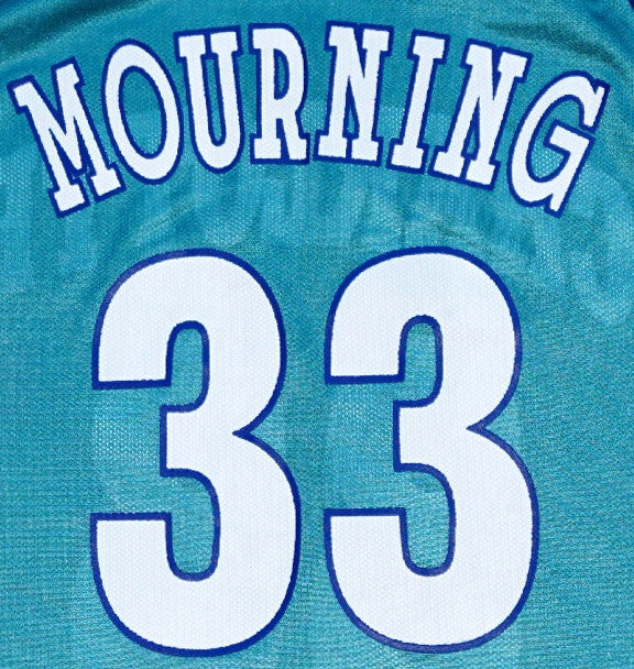 Alonzo Mourning Hornets Jersey - And Still