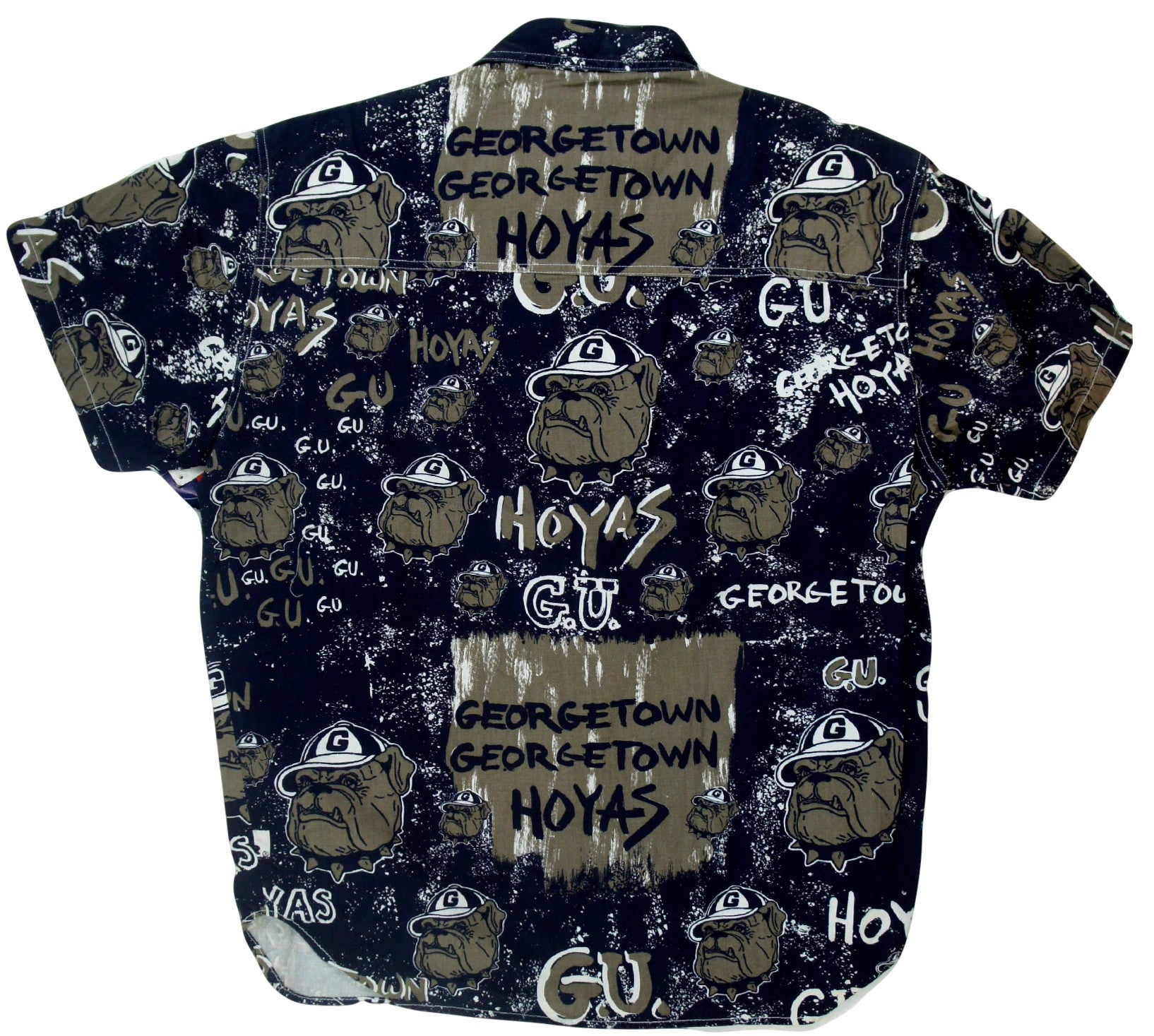 Georgetown Hoyas Button Up - And Still