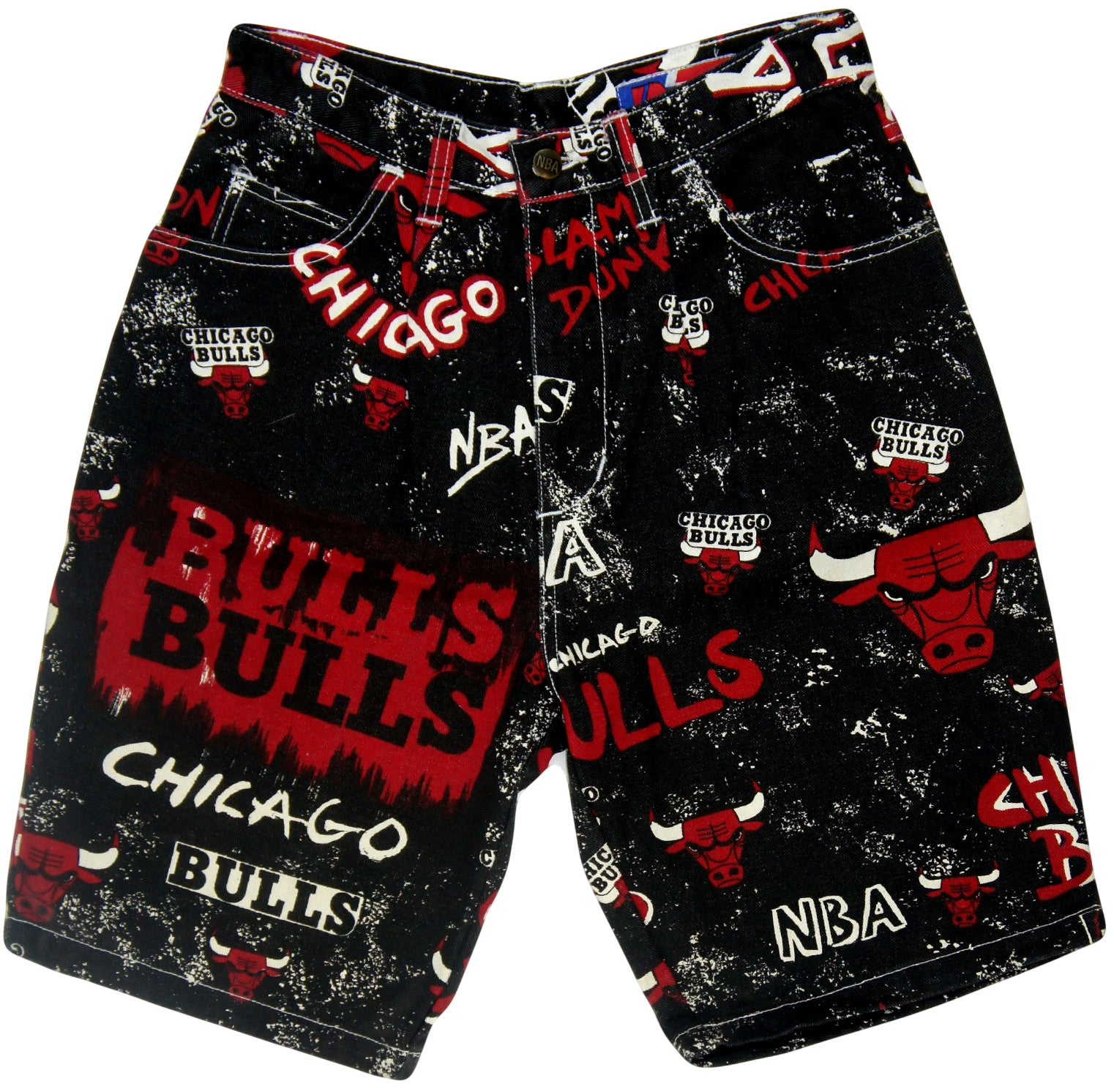 Bulls Vintage Pro Player Shorts - And Still