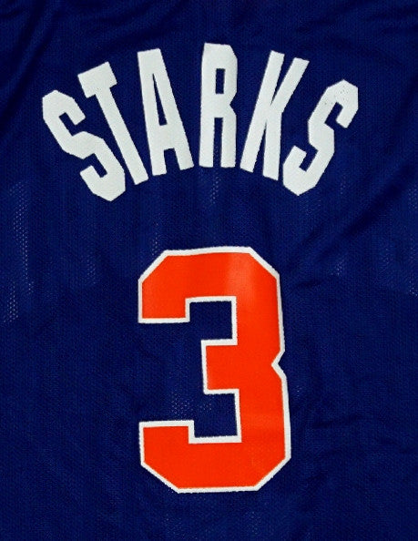 0cf4f880a John Starks New York Knicks Champion Authentic Game Worn 90 s Jersey ...