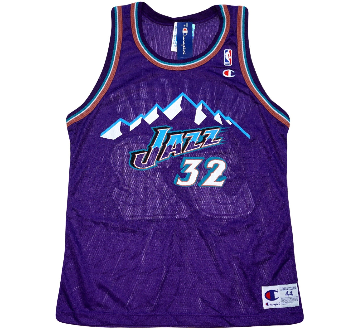 Karl Malone Jazz 90's Jersey - And Still