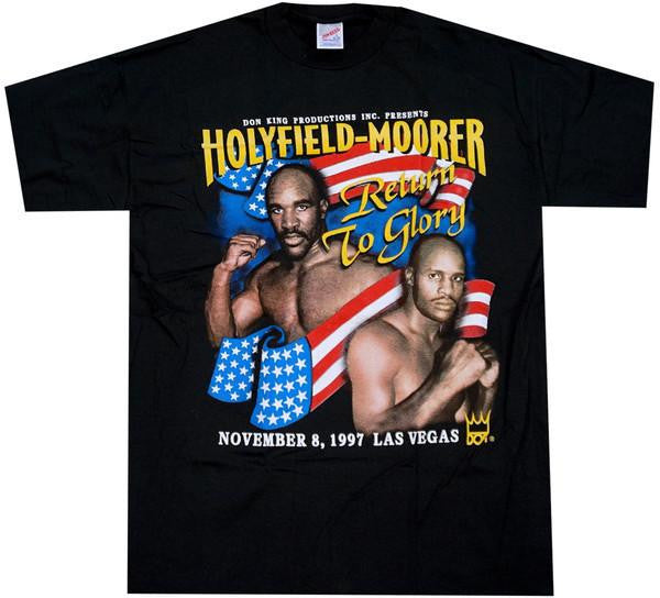 Holyfield VS Moorer Fight Shirt - And Still