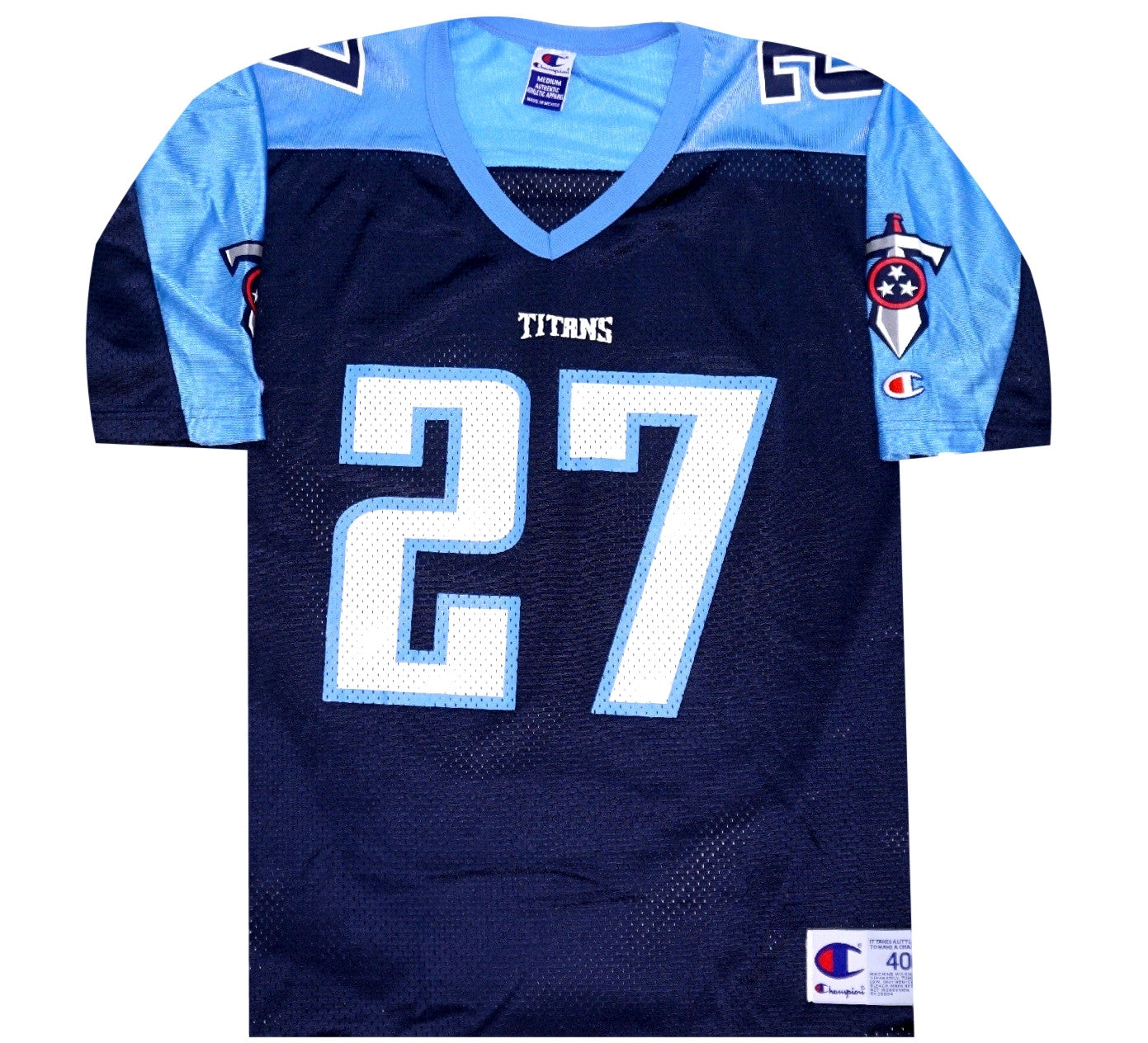 Eddie George Titans Jersey - And Still