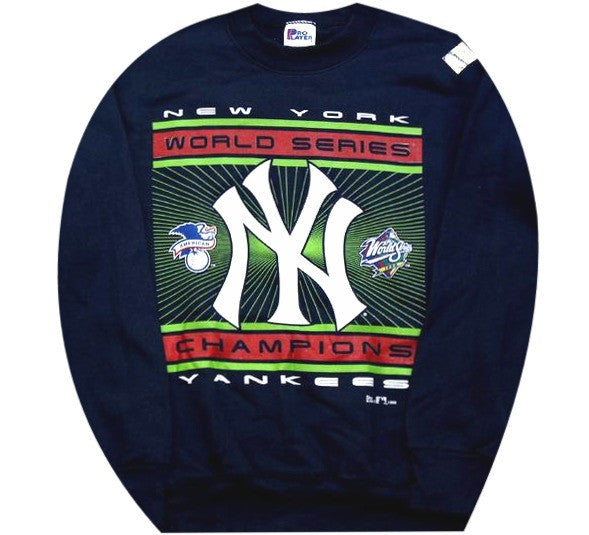 New York Yankees World Series 1998 Crewneck Snapback Rare