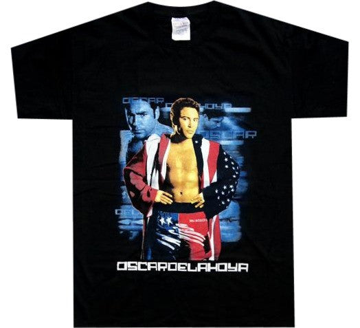 Oscar De La Hoya Fight Shirt