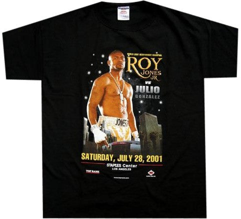 Roy Jones VS Gonzalez Shirt