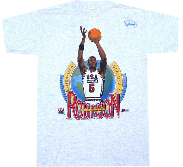 David Robinson 92 USA Shirt - And Still