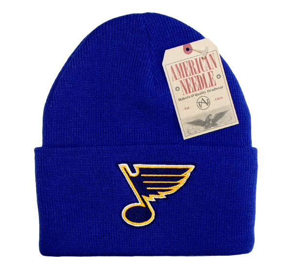 Blues Retro Am Needle Beanie - And Still