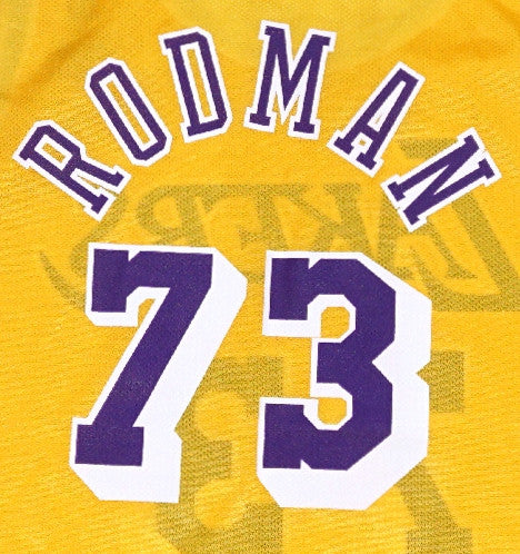 Dennis Rodman Lakers Jersey - And Still