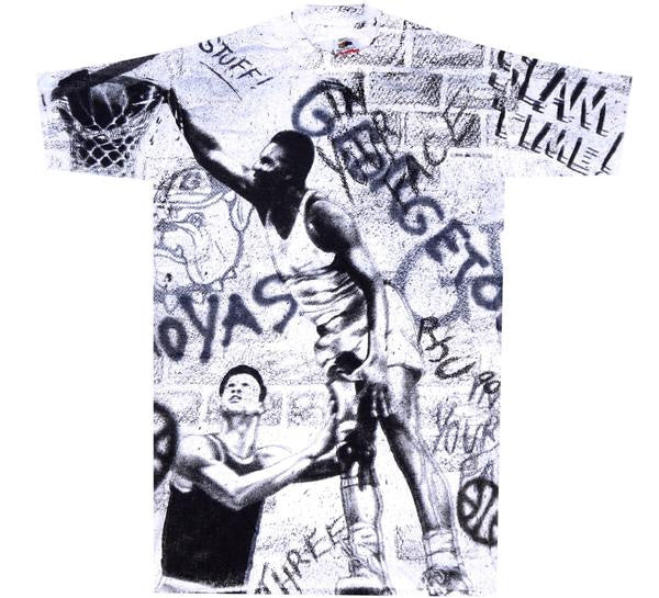 Hoyas 90's All Over Print Shirt - And Still