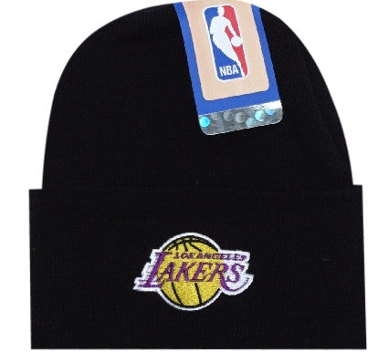 Lakers Retro Knit NBA Beanie - And Still