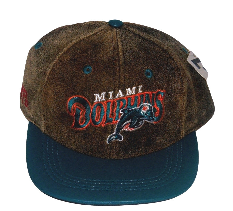Dolphins Modern Leather Hat - And Still