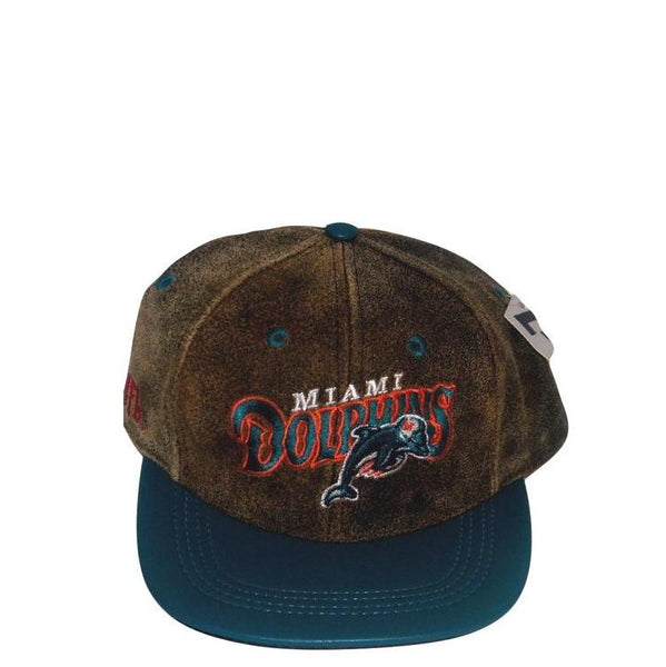 Dolphins Modern Leather Hat