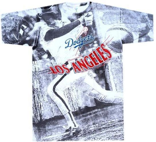Dodgers Vintage 90's MLB Shirt