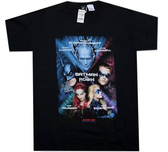 Batman & Robin Movie Shirt