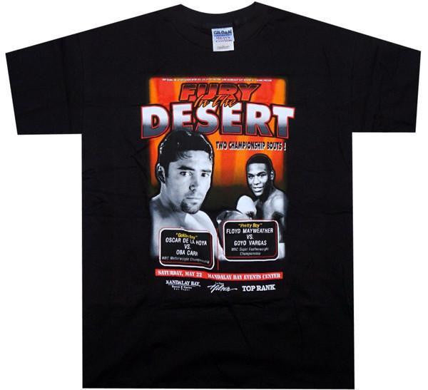 De La Hoya VS Carr Fight Shirt - And Still