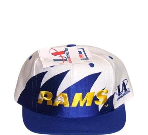 Rams Logo Athletic Snapback